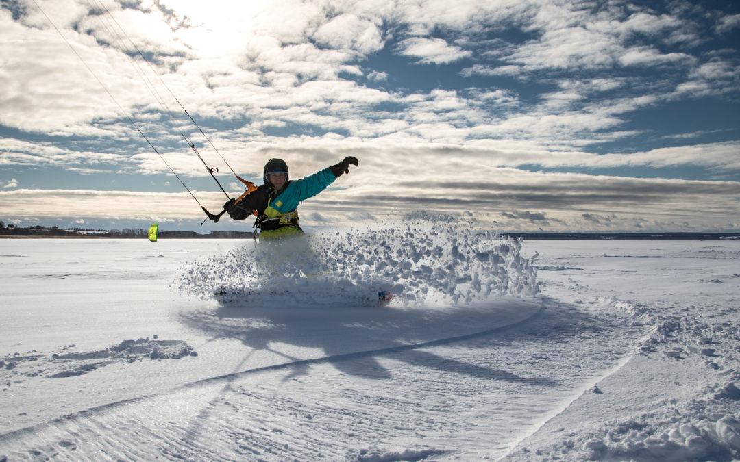 сноукайтинг, зимний кайт, кайт школа surf point