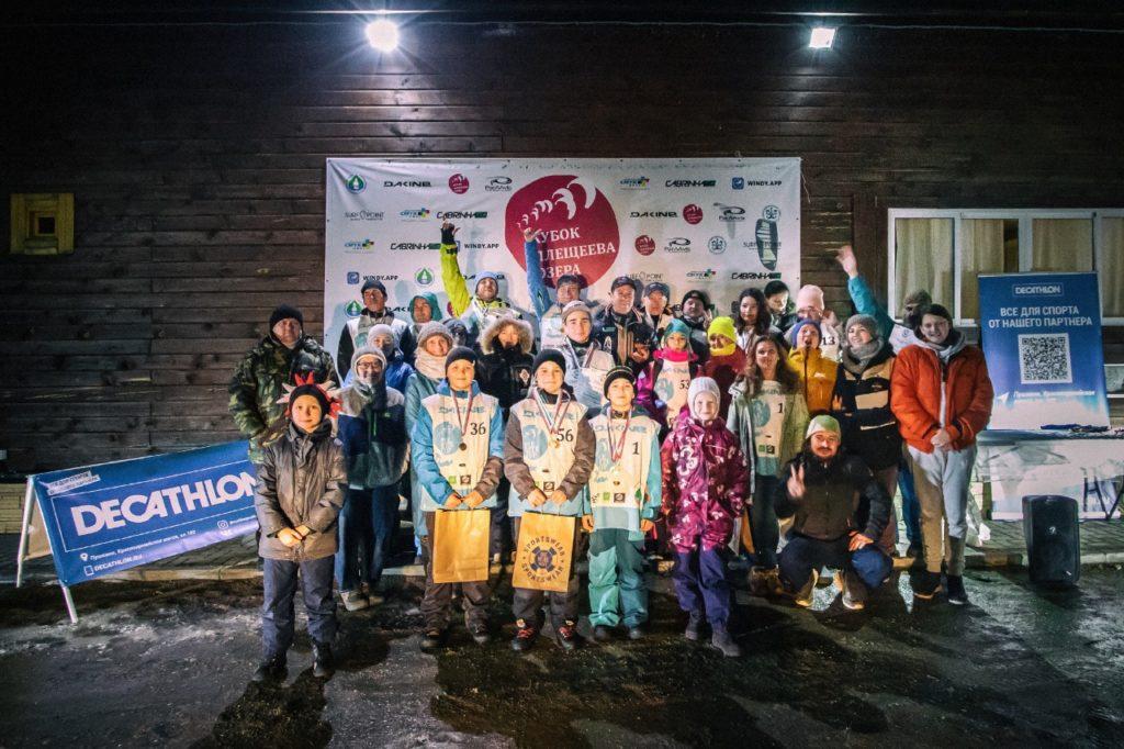 соревнования по сноукайтингу