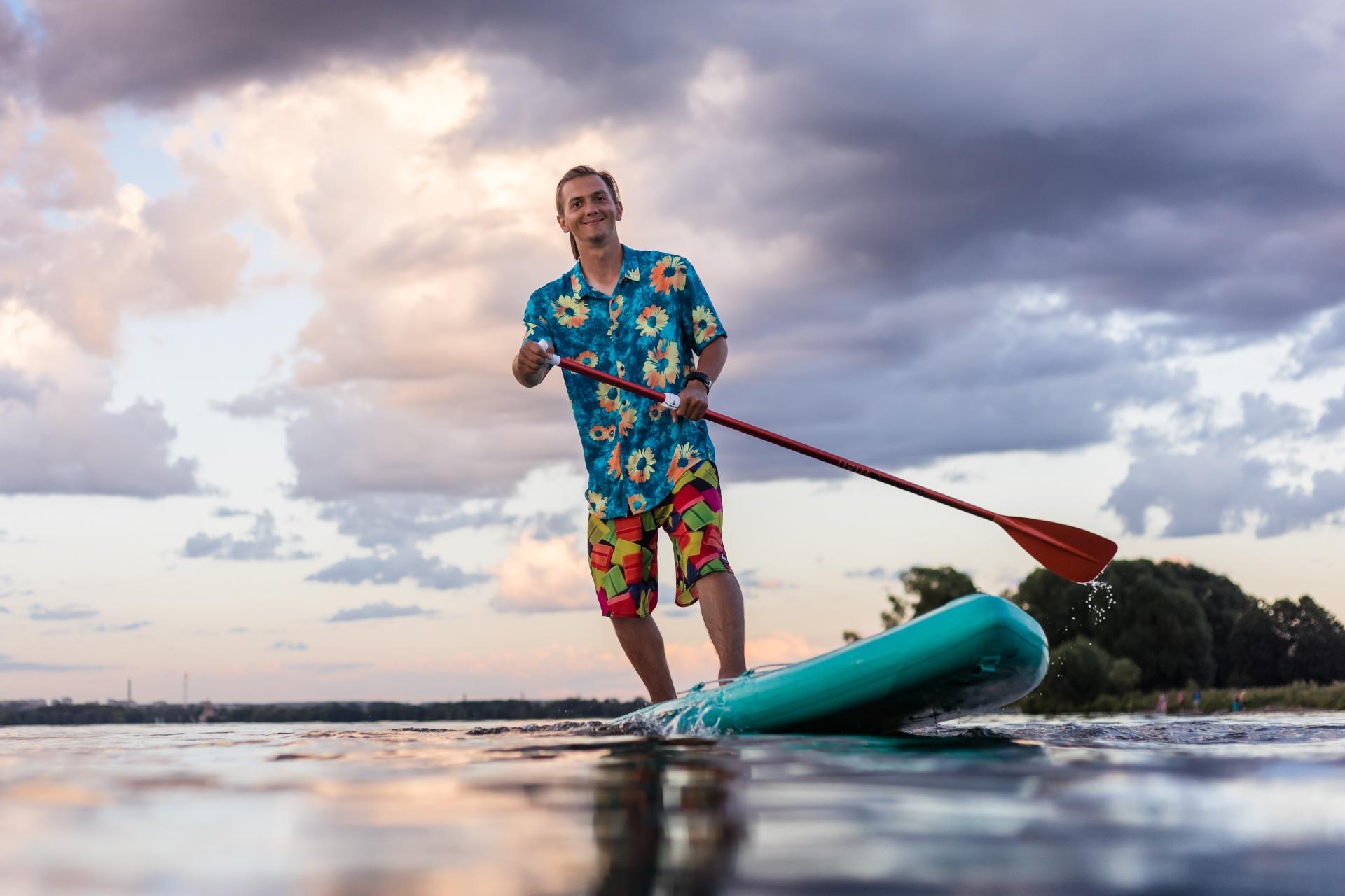 sup сёрфинг, Плещеево озеро,